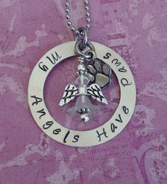Sterling Silver Pet Memorial Necklace dog loss by InspiredByBronx