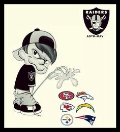 Raiders piss on the rest