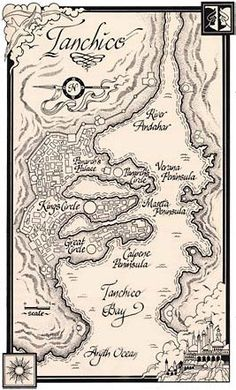 Tanchico, capital city of Tarabon, from Wheel of Time
