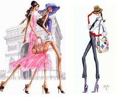 how to draw fashion illustration   Tumblr