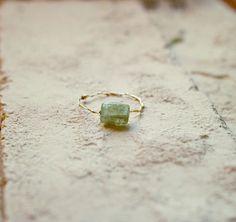 #mayumirings #goldfilled #accessories #jewelry #handmade #14kgf #ring #fall #autumn #fw16 #kyanite