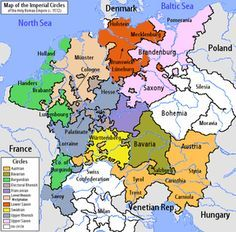 History of Germany -Holy Roman Empire 1512