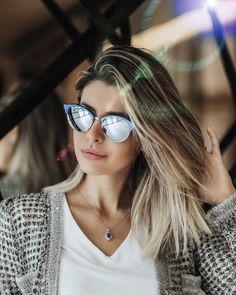 Eu e meu óculos novo da #rayban da @oticasvidere! Amoooo! Só avisando que a ótica entrega para todo Brasil e tem um valor mega bom! Super indico!