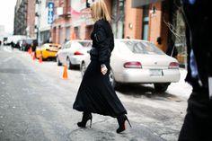 Moda en la calle en la Semana de la Moda de Nueva York febrero 2014 © Josefina Andrés
