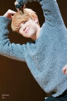 This mochi so cute. Army's Jimin