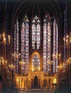 Saint Chapelle Cathedral, Paris