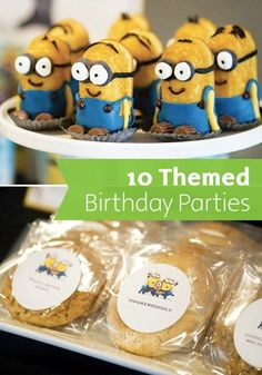 No matter what your little man's interests may be, find inspiring ideas for his big day with help from these 10 Themed Birthday Parties—and no matter what mess may arise, Bounty's new Minion themed paper towels are here to save the day!