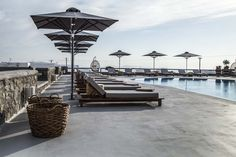 My Mykonos Hotel Mykonos Hotels, Boutique, Outdoor Furniture, Outdoor Decor, Sun Lounger, Luxury, Holiday, Home Decor, Chaise Longue