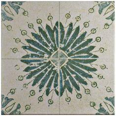 Merola Tile Klinker Retro Blanco Aster 12-3/4 in. x 12-3/4 in. Ceramic Floor and Wall Quarry Tile, Blanco/Medium Sheen