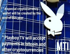 Playboy TV is about to launch a new payment option that will allow customers to access its adult content using cryptocurrencies 🔸 Playboy is also planning to integrate the cryptocurrency wallet with its other business lines such as gaming and virtual reality Intiatives 🍀 • • @milliontreeinc for daily progress ! ✔️ • • #Ebook #info #crypto #consulting #conference #money #inspiration #crypto  #marketing #mindset #focus #success #valuta #millionairemindset #motivation #data
