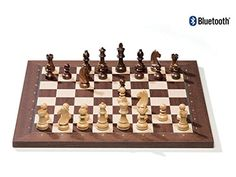 DGT Bluetooth Rosewood eBoard with Timeless pieces  Electronic chess  chessgamesshopcom -- Want additional info? Click on the image.