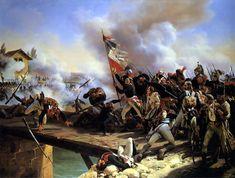 Général Bonaparte à la bataille du pont d'Arcole.