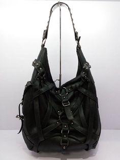 Amazon.com : Steampunk Women's Handbag Fashion Shoulder Bag Fanny Pack Gothic Pu Leather Tote Bag(black) : Patio, Lawn & Garden