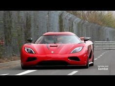 Watch a Koenigsegg Agera R do a 250-mph flyby of the Nürburgring pits  (video)