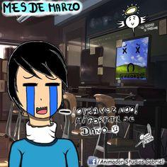 Animador StudiosGabriel: Mes de Marzo Siguenos en Facebook: https://www.facebook.com/AnimadorStudiosGabriel Siguenos en Twitter: https://twitter.com/gabrielzhunio Siguenos en Instagram: https://instagram.com/gabrielzhunio/ Siguenos en DeviantArt: http://animadorstgabriel.deviantart.com/ Siguenos en Tumblr: http://animadorstudiosgabriel.tumblr.com/ Siguenos en Youtube Suscribirse: https://www.youtube.com/channel/UCmeAoDBC9dF7NSNah7mdDaw