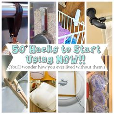 50+ Hacks to Start Using NOW!! (You'll wonder how you ever lived without them.) - See more at: http://diyhshp.blogspot.gr/search/label/Tips#sthash.xyLDFQ9n.dpuf