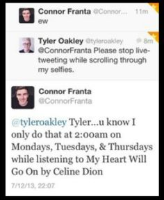 Connor Franta and Tyler Oakley (screenshot)
