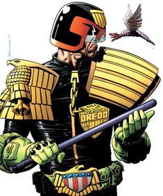 Judge Dredd The Complete Brian Bolland by CharlieKirchoff.deviantart.com on @deviantART