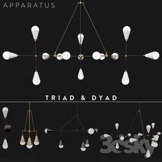 Apparatus Triad & Dyad set