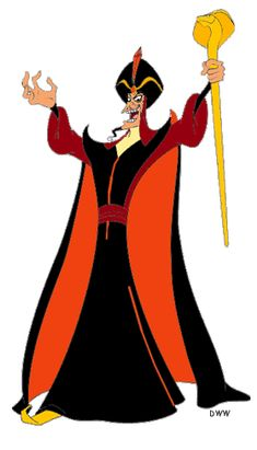 Images of the sorcerer Jafar from Disney's Aladdin. Disney Movie Characters, Disney Animated Movies, Disney Villains, Disney Movies, Disney Pixar, Disney Aladdin Genie, Evil Disney, Jafar, Disney Pictures