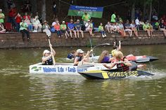 Paddlin For Paws Cardboard Boat Race On Lake Wedowee
