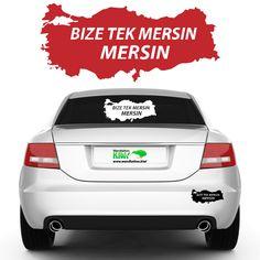 Bize tek Mersin Mersin #Autoaufkleber