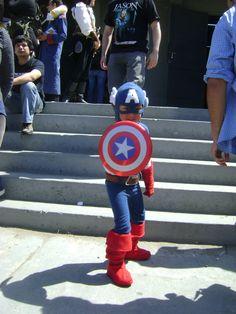 Chibi Capitan America #Cosplay