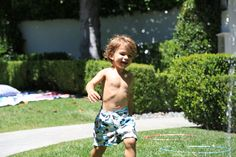 How to Throw a Sprinkler Party | Molly Sims