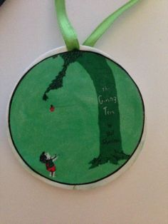 The Giving Tree Holiday Ornament by UberDorkDesigns on Etsy