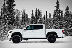 2017 Toyota Tacoma TRD Pro White