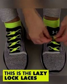 How to lace your shoes creatively. Ways To Lace Shoes, Tie Shoes, Cool Inventions, Lace Patterns, Shoe Game, Diy Clothes, Lazy, Fashion Outfits, Ladies Fashion
