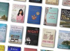30 Great Beach Books - consider a book club beach outing!