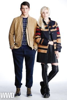 the portland collection fall 2013 | style / womensweardaily: Fall 2013 Trend: A for Attitude HIM: Steven ...