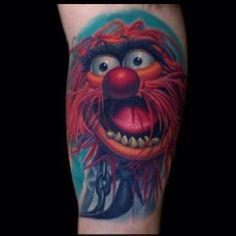 Niko Hurtado Animal Muppet tattoo