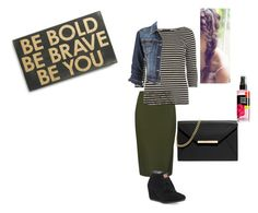 """""""Be Bold, Be Brave. Be You"""" by rae1997 ❤ liked on Polyvore featuring M&S Collection, Dorothy Perkins, maurices, MICHAEL Michael Kors, TOMS and Primitives By Kathy"""