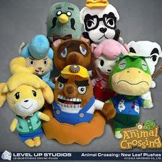 ACNL Adorable Plushies ^_^    I would So love any of them <3