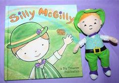 This A.DOR.ABLE book and leprechaun set has Silly McGilly play tricks on students in classrooms and on children at home. So fun and cute!