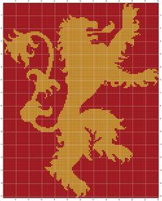 WoollyRhinoCrafts: FREE Game of Thrones Colorwork Charts - Part 1