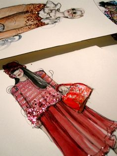 Fashion illustration - I.A.