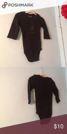 Juicy Couture Baby Onesie Black juicy Onesie. Item comes from a smoke free, pest free home. Reasonable offers will be accepted. Bundle and save Juicy Couture One Pieces Bodysuits