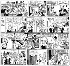 La Famille Illico, Bringing Up Father, Jiggs And Maggie, George Mc Manus, 1936 -1938, Futuropolis 1980