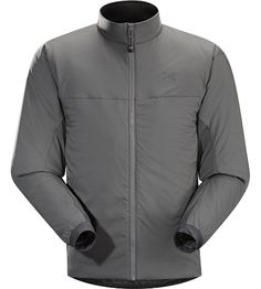 Leaf.Arcteryx Atom LT Jacket Men's Exceptionally lightweight insulated mid layer that retains core warmth by blocking wind and trapping warm air next to the body, the Atom LT can also function as a wind resistant outer layer.