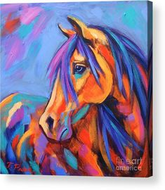 Blue Eyed Beauty Poster by Theresa Paden. All posters are professionally printed, packaged, and shipped within 3 - 4 business days. Choose from multiple sizes and hundreds of frame and mat options. poster Blue Eyed Beauty Poster by Theresa Paden Abstract Horse Painting, Painting & Drawing, Horse Paintings, Knife Painting, Oil Paintings, Original Paintings, Horse Drawings, Equine Art, Horse Art