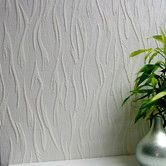 Found it at Wayfair - Anaglypta Paintable Caiger Abstract Embossed Wallpaper