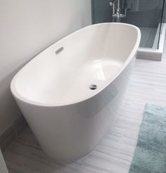 Featuring The Coastal Freestanding Tub.