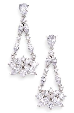 Nadri Drop Earrings available at #Nordstrom