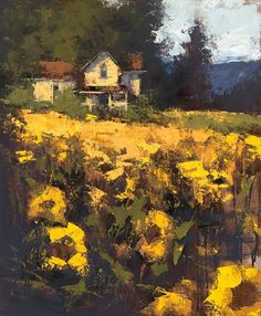 Summer by Romona Youngquist  ~ 24 x 18
