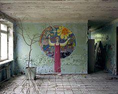 Abandoned school in Pripyat.