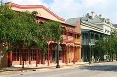 Historic buildings in downtown, Pensacola, Florida