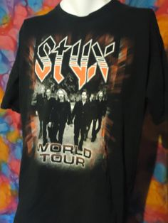 Vintage - Styx - World Tour - T-shirt - XL/XXL - Black